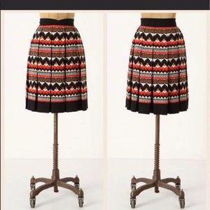 Fei anthropology patterned skirt